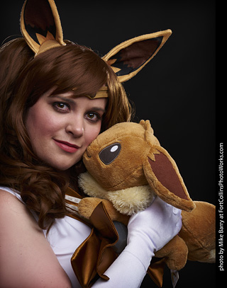 Aryn - Sailor Eevee cosplay shoot