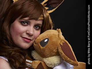 Sailor Eevee cosplay shoot - Aryn