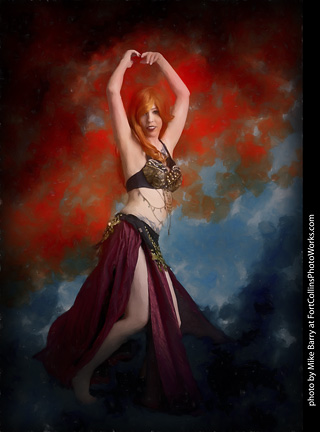 Belly Dance Shoot - Rayvenn