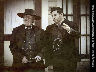 Gunfight at the OK Corral in Tombstone